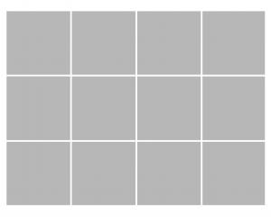 12 box layout